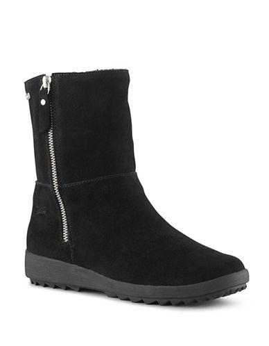 Cougar Vito Waterproof Suede Boots-BLACK-7