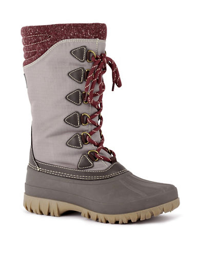 Cougar Conga Waterproof Tall Winter Boots-BROWN-11