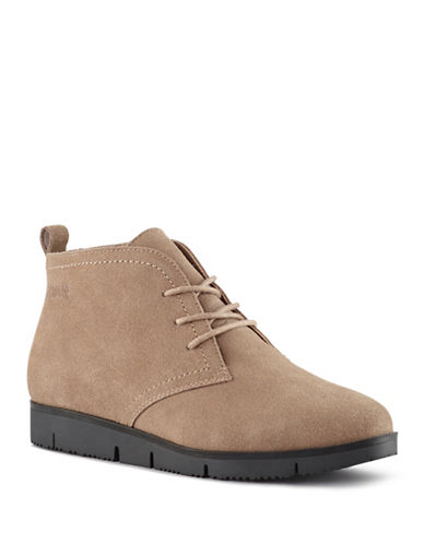 Cougar Snack Waterproof Suede Chukka Boots-TAUPE-7.5