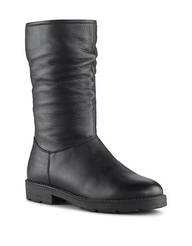Cougar Destiny Waterproof Leather Roll Top Boot-BLACK-6