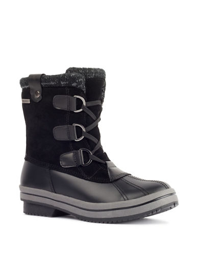 London Fog Ava Cold Weather Boots-BLACK-6
