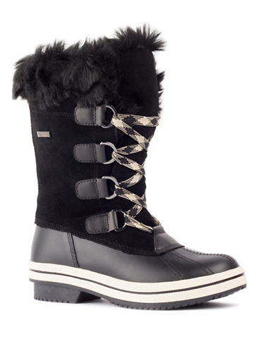 London Fog Avalon Cold Weather Boots-BLACK-7