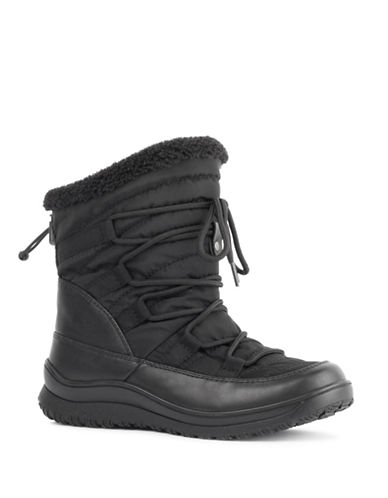 London Fog Jade Cold Weather Boots-BLACK-6