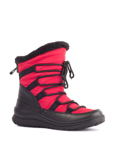 London Fog Jade Cold Weather Boots-RED-7