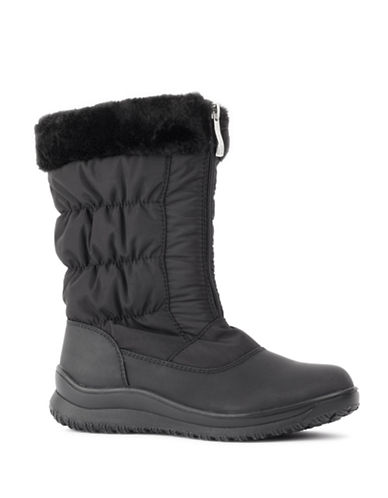 London Fog Jane Cold Weather Boots-BLACK-6