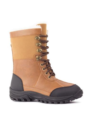 London Fog Andes Rain Boots-COGNAC-10
