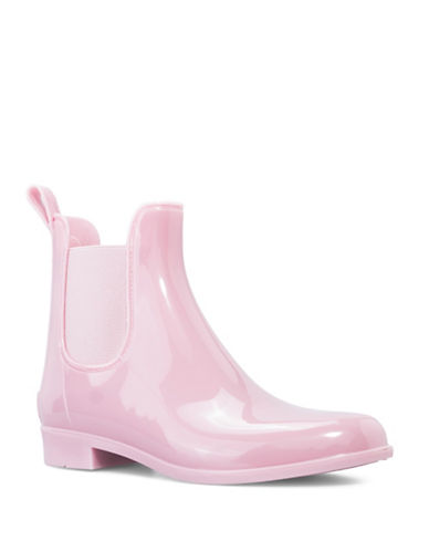 London Fog Chelsea Water Resistant London Fog  Rain Boots-PINK-8
