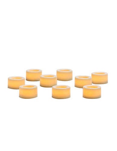 Candle Impressions Nine-Pack Wax Covered Mini Votives, 0.75-Inch-NATURAL-One Size