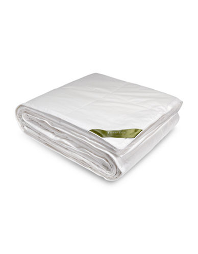 Smartsilk Silk-Lined Medium Weight Duvet-WHITE-King