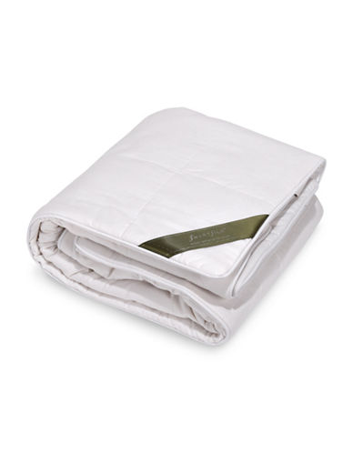 Smartsilk Silk-Lined Two-Pack Pillow Protector-WHITE-Queen