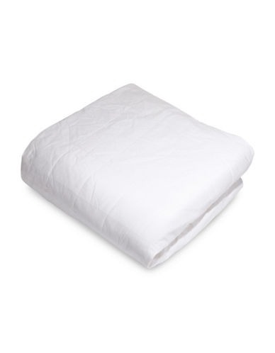 Smartsilk Silk-Lined Mattress Pad-WHITE-King