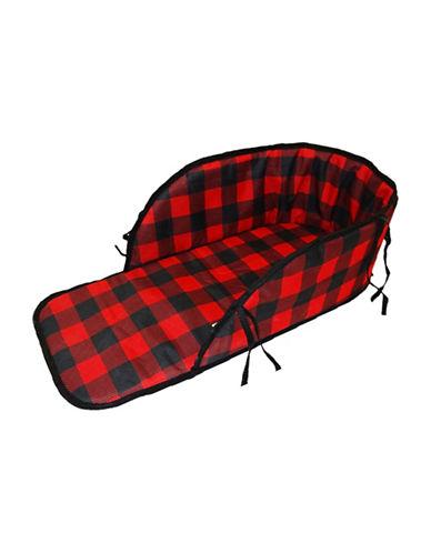 Streamridge Plaid Sleigh Pad-RED/BLACK-One Size