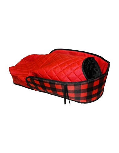 Streamridge Plaid Sleigh Pad-RED-One Size