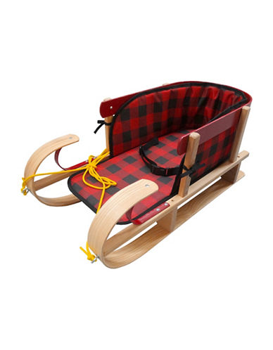 Streamridge Snow Kiss Sleigh and Belted Plaid Pad Set-BEIGE-One Size