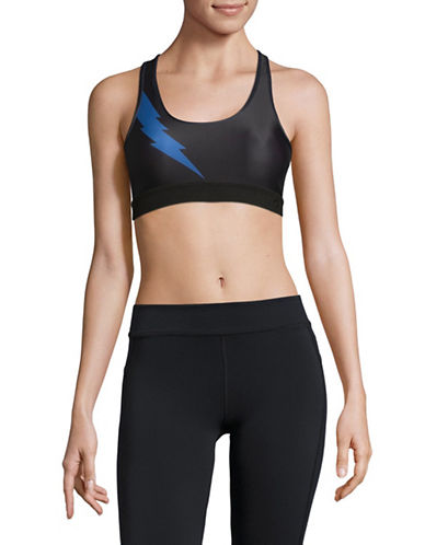 Chrldr Lightning Bolt Sports Bra-BLACK-Small 89609422_BLACK_Small
