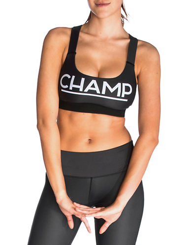 Chrldr Champ Support Sports Bra-BLACK-Medium 89967736_BLACK_Medium
