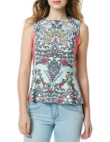 Buffalo David Bitton Shaw Printed Tank Top-MULTI-Large
