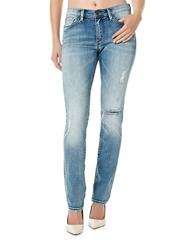 Buffalo David Bitton Faith Straight Jeans-BLUE-32