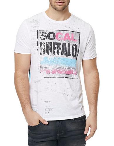 Buffalo David Bitton Nisea Short Sleeve T-Shirt-WHITE-Medium 88343226_WHITE_Medium