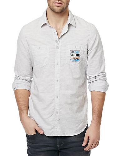 Buffalo David Bitton Sagast Long Sleeve Shirt-CHARLIE-Large