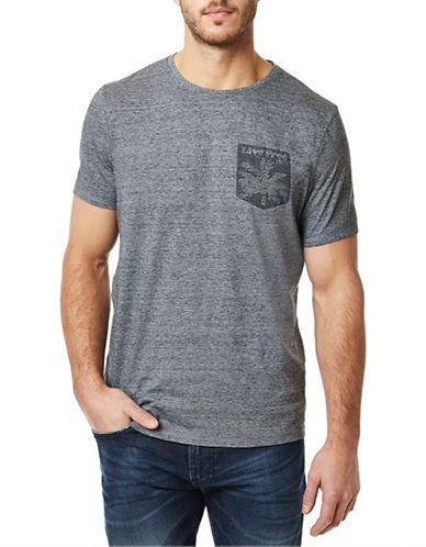 Buffalo David Bitton Nilovar Crew T-shirt-GREY-XX-Large 88490498_GREY_XX-Large