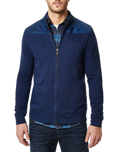 Buffalo David Bitton Niloom Full Zip Sweater-BLUE-Small 88490464_BLUE_Small