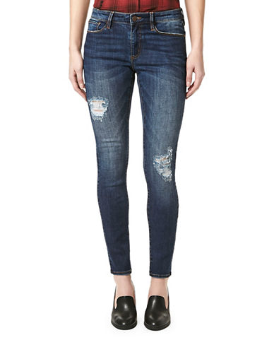 Buffalo David Bitton Hope Distressed Jeans-BLUE-27