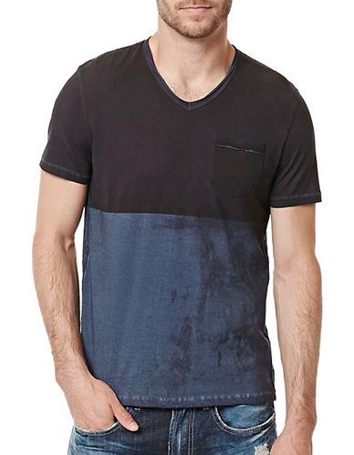 Buffalo David Bitton Kiprint Jersey T-Shirt-GREY-XX-Large 88824229_GREY_XX-Large
