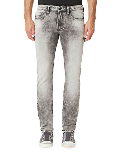 Buffalo David Bitton Six-X Slim-Fit Jeans-GREY-32X34