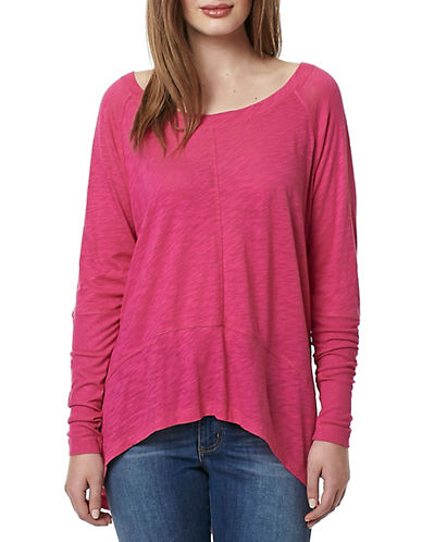 Buffalo David Bitton Couch Slouch Knit Top-RED-Large 89036979_RED_Large