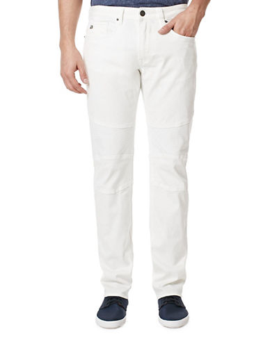 Buffalo David Bitton Ash-X Skinny Jeans-WHITE-36X34