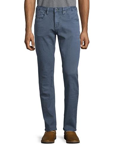Buffalo David Bitton Evan Slim Stretch Jeans-GREY-36X32