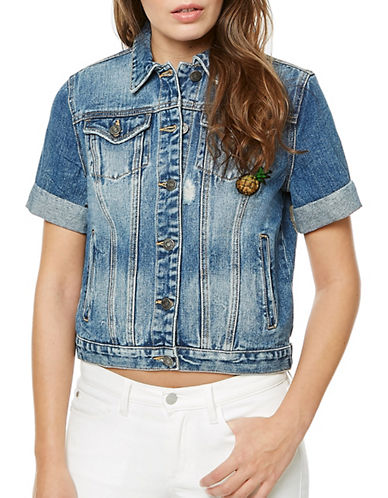 Buffalo David Bitton Norava Patchwork Denim Jacket-BEEPER-Medium