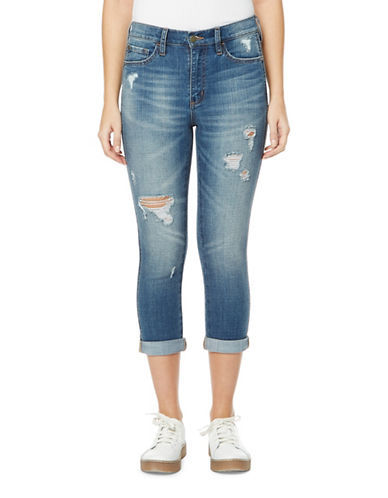 Buffalo David Bitton Ivy Cropped Jeans-TRICKERY-26