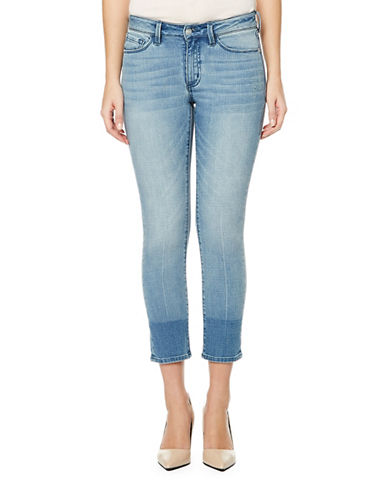 Buffalo David Bitton Cropped Curvy Fit Distress Jeans-CHEERIO-27