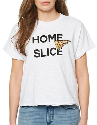 Buffalo David Bitton Home Slice Tee-GREY-Medium