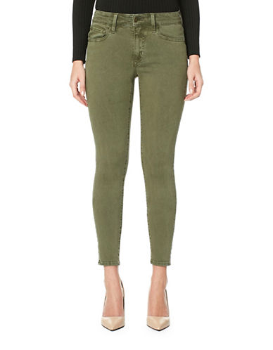 Buffalo David Bitton Hope Ankle Jeans-LIGHT OLIVE-24