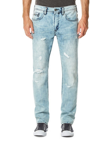 Buffalo David Bitton Ash Skinny Jeans-BLUE-33X32