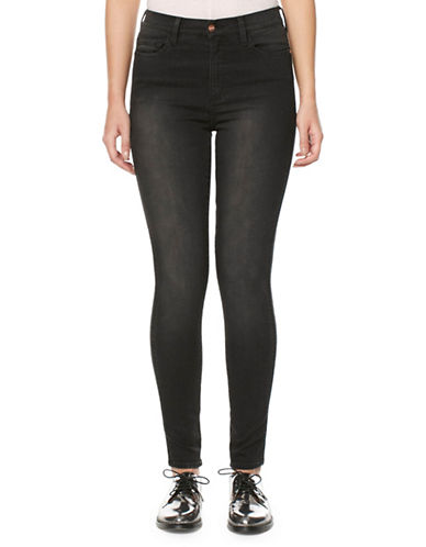 Buffalo David Bitton Ivy Skinny Jeans-BLACK-32