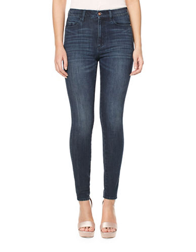 Buffalo David Bitton High Rise Skinny Jeans-BLUE-32