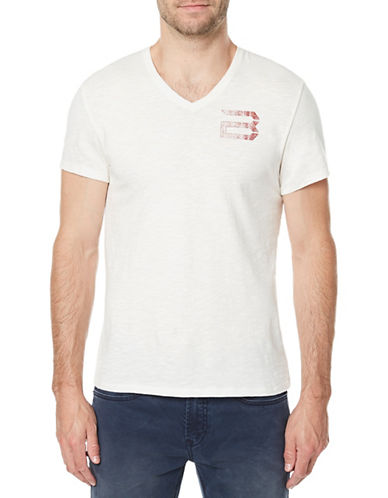 Buffalo David Bitton Tolight Graphic Cotton T-Shirt-WHITE-Small 89759490_WHITE_Small