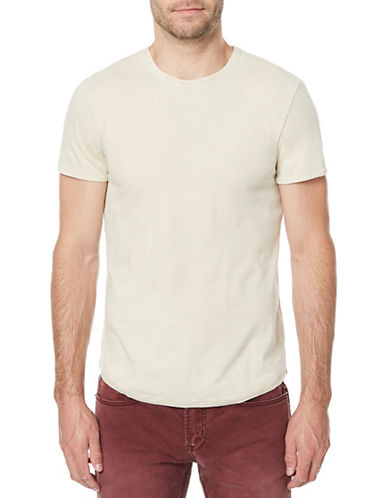 Buffalo David Bitton Tofade Short-Sleeve Cotton Tee-BEIGE-X-Large