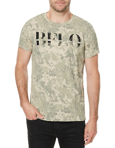 Buffalo David Bitton Tocamo Short-Sleeve Tee-BEIGE-X-Large