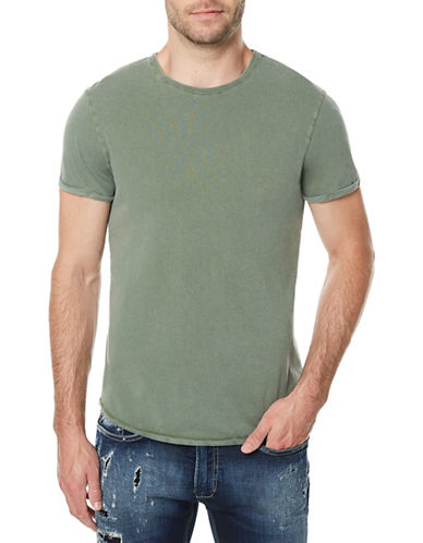 Buffalo David Bitton Tofade Short-Sleeve Cotton Tee-GREEN-X-Large 89840050_GREEN_X-Large