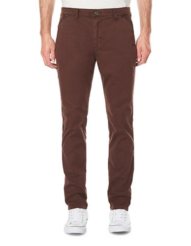 Buffalo David Bitton Classic Twill Pants-PURPLE-33