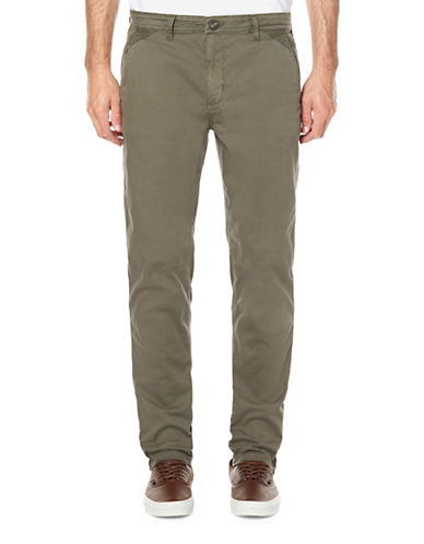 Buffalo David Bitton Classic Twill Pants-GREEN-30