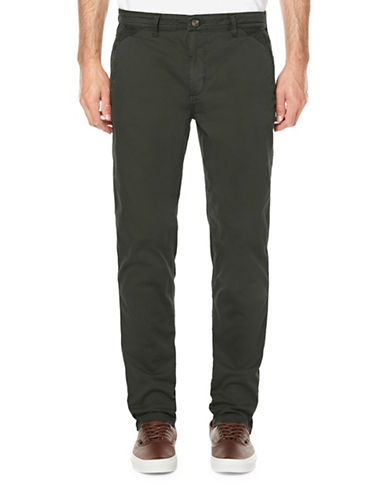 Buffalo David Bitton Classic Twill Pants-GREY-32