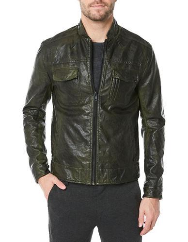 Buffalo David Bitton Jackoru Zip-Front Jacket-GREEN-Small