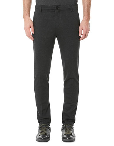 Buffalo David Bitton Slim-Fit Trousers-GREY-38