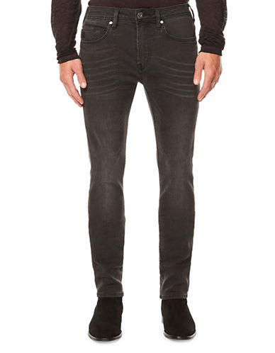 Buffalo David Bitton Super Skinny Jeans-BLACK-38X32